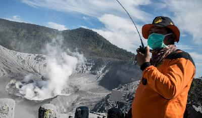 SAR: Tourist Destination at Tangkuban Parahu Closed for 3 Days