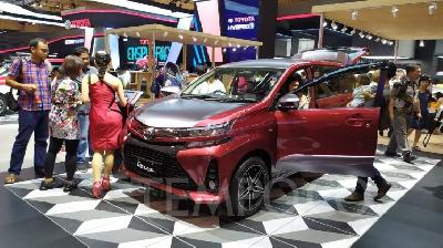 Penjualan Toyota Avanza September 2019 Tembus 9.400 Unit