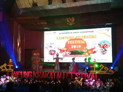 Krakatau Festival is Lampung's Key Promotional Event: Governor