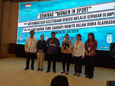 Erick Thohir Speaks on Women's Major Contribution in Asian Games