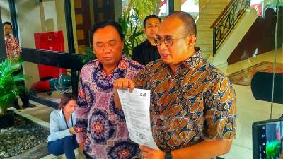 Gerindra Suspects Foul Play in Suspect Naming of Agam Regent