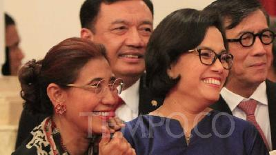 Susi ke Sri Mulyani: Ask Me To Do Anything, Everything, But..