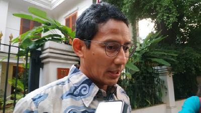 Sandiaga Uno Set to Coach Gerindra's Youths, Shuns Growing Rumors