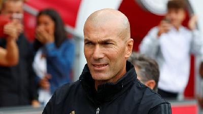 Liga Champions: Real Madrid Terancam Gagal Lolos, Zidane Tetap Optimistis