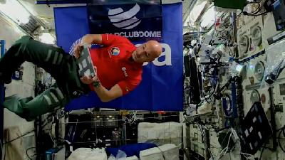 Astronaut Luca Parmitano Plays First Ever DJ Set From ISS