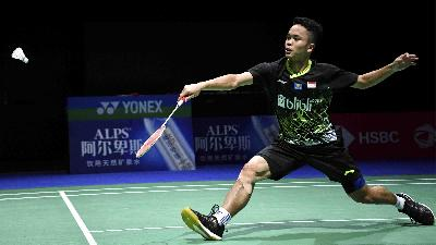 Hong Kong Open 2019: Anthony Ginting ke Final, Jonatan Tersingkir