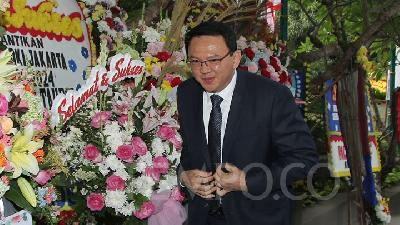 Ahok Reflects on Never Becoming a Government Official Again
