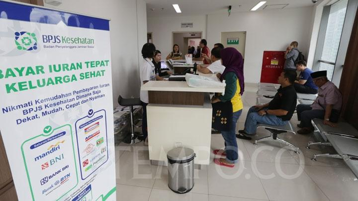 Daily activities at the Health Care and Social Security Agency's (BPJS Kesehatan) Central Jakarta office . TEMPO/Tony Hartawan