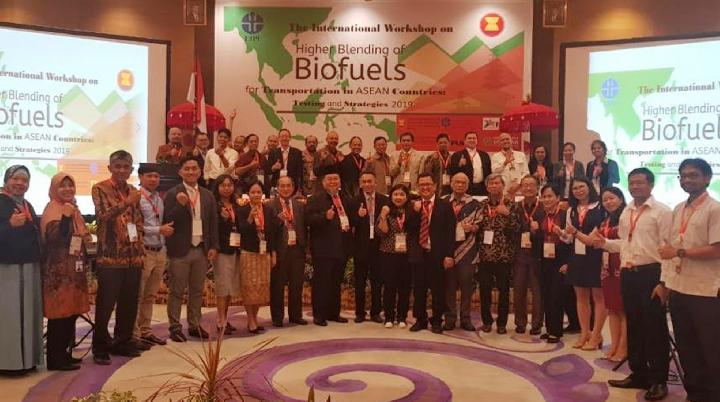 Workshop on Higher Blending of Biofuels for Transportation in ASEAN Countries: Testing and Strategy di Kuta, Bali pada Selasa, 3 September 2019.