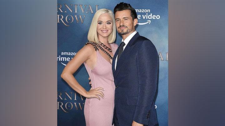 Katy Perry dan tunangannya Orlando Bloom. Instagram/@katyperry