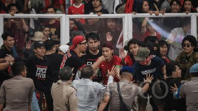 PSSI Ready for Possible FIFA Sanction Following Thursday's Chaos
