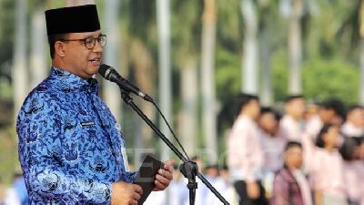 Anies Baswedan Advises Public to Watch Inauguration on TV