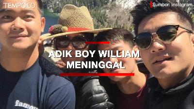 Raymond Hartanto Meninggal, Warganet Beri Simpati ke Boy William