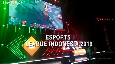 Kemeriahan Final eSports League Indonesia 2019