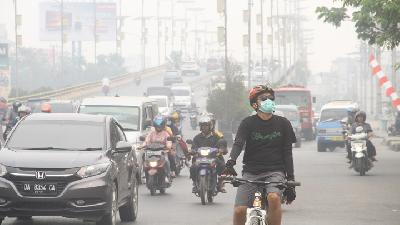SE Asia Urged to Cooperate on Taking Firms to Task over Fire Haze