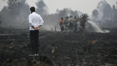 Haze; Kalimantan Use 1.5 Tons of Salt for Cloud Seeding