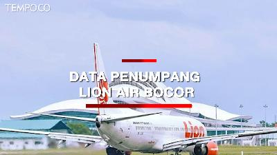 Data Penumpang Bocor, Lion Air: Kami Jadi Korban