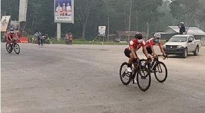 Tour de Siak Routes Cut Short due to Smog