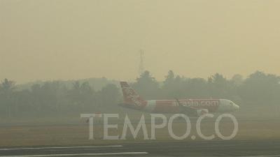 Haze Causes Poor Visibility; 7 Flights in Palembang Delayed