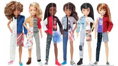 Dukung Inklusivitas Gender, Mattel Rilis Boneka Gender Netral