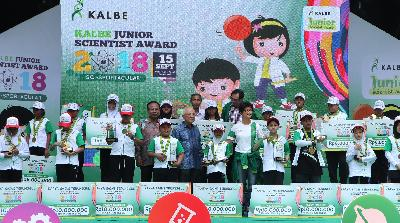 Kalbe Umumkan Finalis Karya Sains Junior Scientist Award 2019