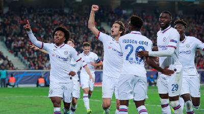 Southampton Vs Chelsea 1-4, Lampard Puji Peran Senioritas Willian