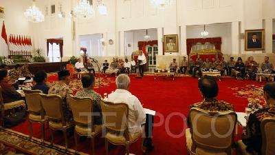 Statements of 12 Figures Summoned by Jokowi to Palace