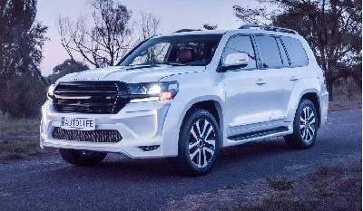 Modifikasi Toyota Land Cruiser Tandingi Kemewahan Lexus LX570