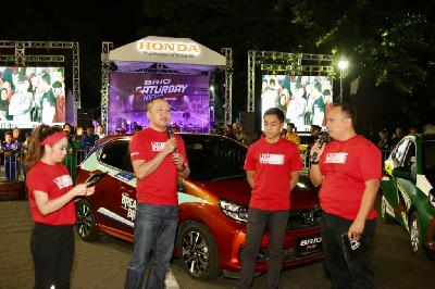 Balap Mobil: Brio Saturday Night, Alvin Bahar Jadi Bintang Tamu