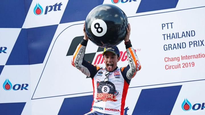 Photos : Marc Marquez seals his sixth MotoGP title in Thailand