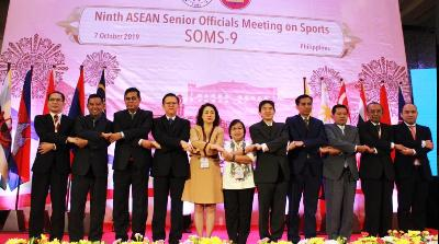 Sesmenpora Hadiri the 9th ASEAN SOMS - 9 di Filipina