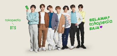 Tokopedia Appoints BTS as Brand Ambassador