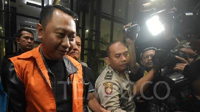 KPK Names 6 Suspects in Arrest of North Lampung Regent