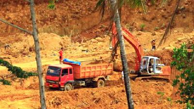 Ombudsman Finds Illegal Mining Site in Depok