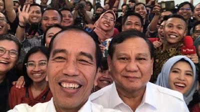 Prabowo after Meeting with Jokowi: We are Ready to Help Govt