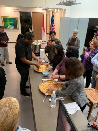 Tempe Workshop and Cooking Demonstration in Chicago