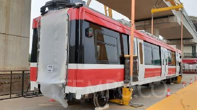 LRT Progress at 66%; Operation Starts in 2021
