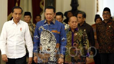 Jokowi Aspires for Modest Presidential Inauguration Ceremony