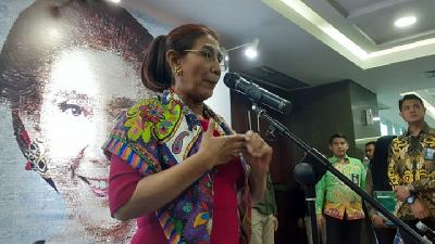 Susi Pudjiastuti: Indonesia's Fisheries GDP Up 50 Percent