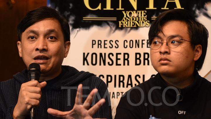 Yovie Kembali Gelar Konser Inspirasi Cinta Yovie and His Friends