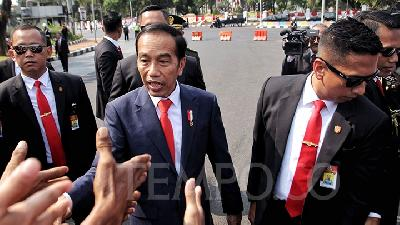 KontraS Sees Jokowi's Inauguration Speech as a Setback