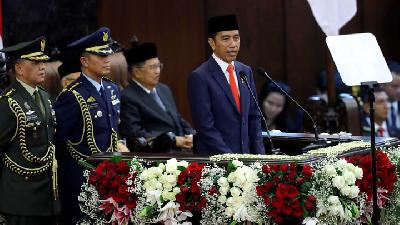 PDIP Defends President Jokowi's Lack of Human Rights Speech
