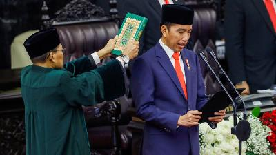 Photos : Joko Widodo Sworn in For Second Term as President