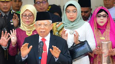 VP Ma'ruf Amin Hopes for Young and Creative State Ministers