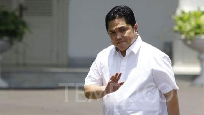 Erick Thohir, Wishnutama Get Summoned to the Presidential Palace