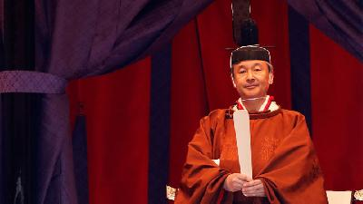 Emperor Naruhito Pledges To Fulfil Duty at Enthronement Ceremony