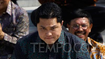 Erick Thohir to Fire Krakatau Steel Worker Involved in Terrorism