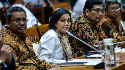 Sri Mulyani Wants Plastic Bags Tax Set at Rp30,000/kg