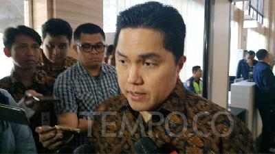 Erick Thohir Says He Moves Fast to Implement Jokowi's Mission
