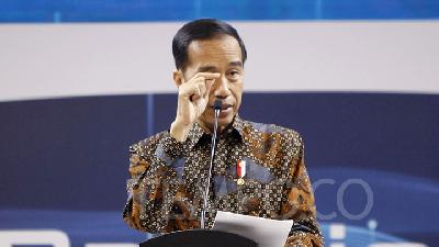 Jokowi Urges State Ministers to Emulate US' Policymaking